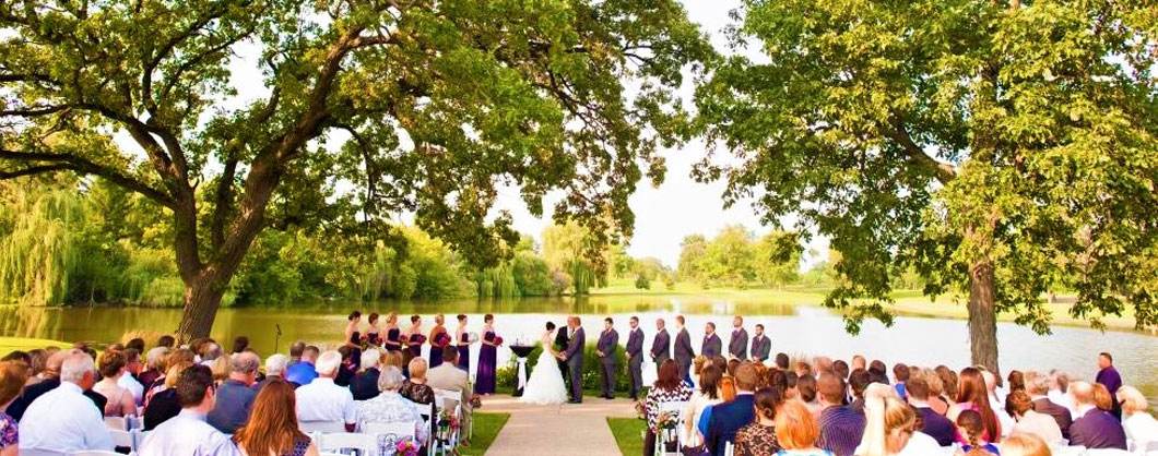 Exquisite Outdoor Ceremony Site